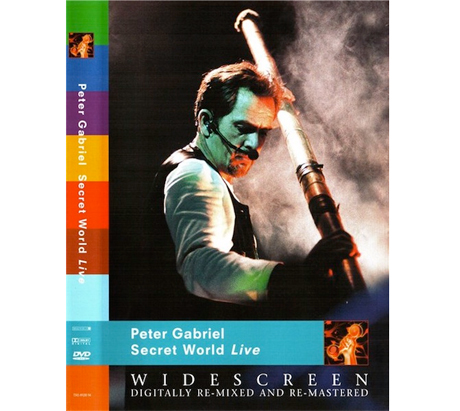 Peter Gabriel Plots DVD/Blu-ray Reissue of 1994's 'Secret World Live'