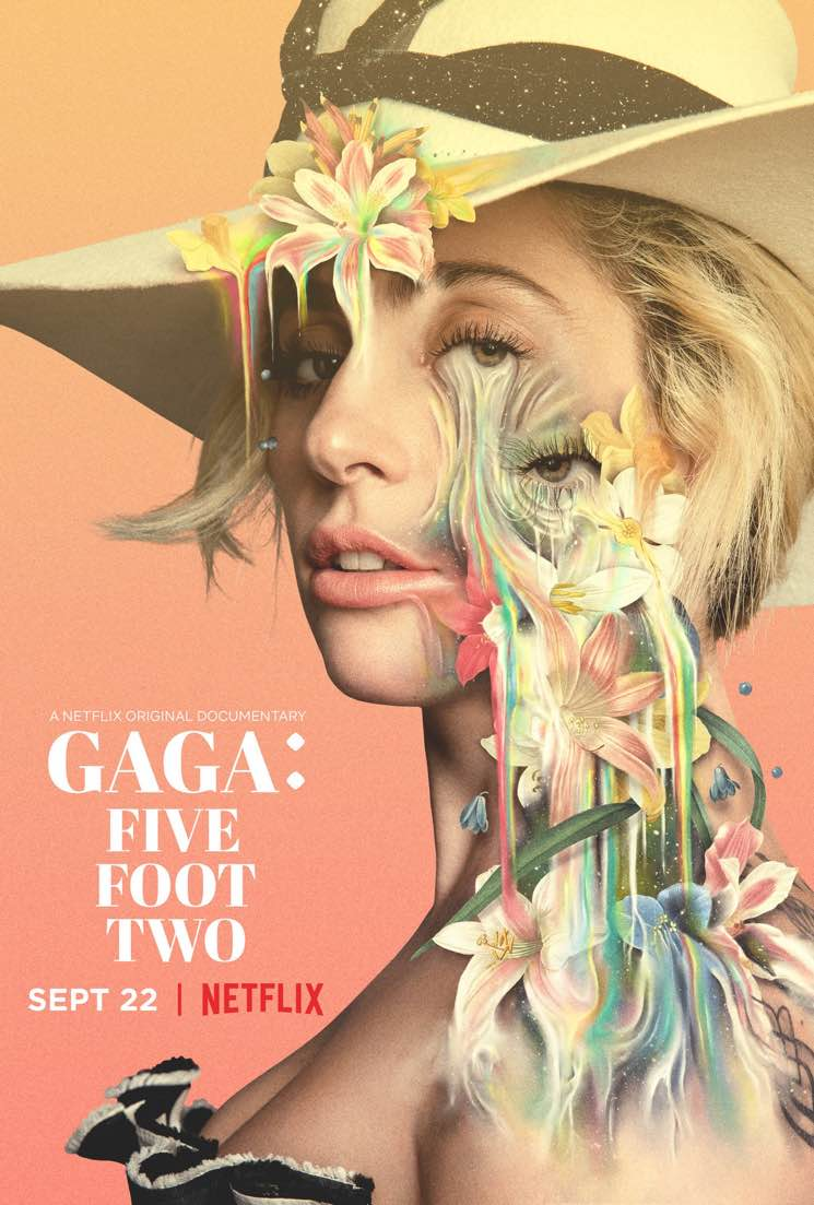 ​Lady Gaga to Premiere 'Gaga: Five Foot Two' Documentary and Perform at TIFF