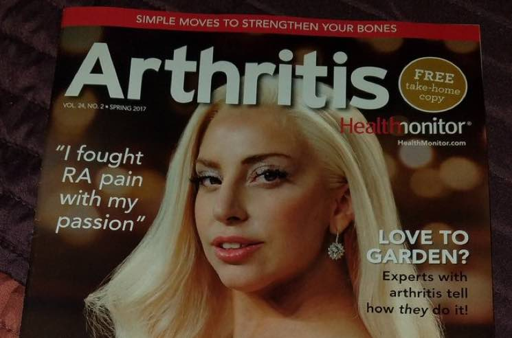 Lady Gaga Graces the Cover of 'Arthritis' Magazine