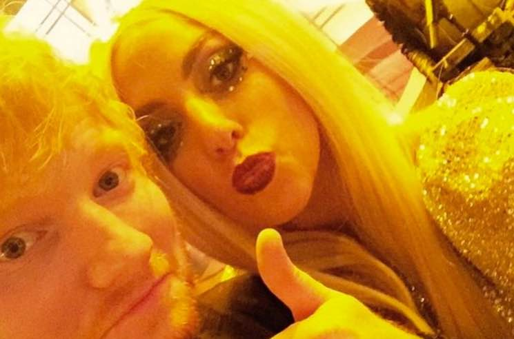 ​Lady Gaga Shows Love for Ed Sheeran After He Was Bullied Off Twitter