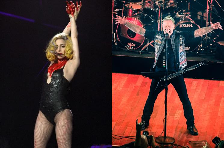 Lady Gaga and Metallica Are Going to Duet at the Grammys