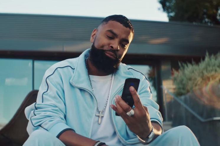 "Gallant Shares ""Sleep on It"" Video Starring Ginuwine and a Motorola KRZR"