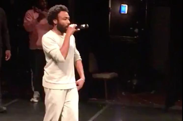 Chance the Rapper Brings Out Childish Gambino at Open Mike Chicago