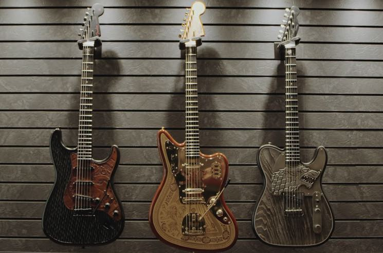 Fender Is Selling $35,000 'Game of Thrones' Guitars