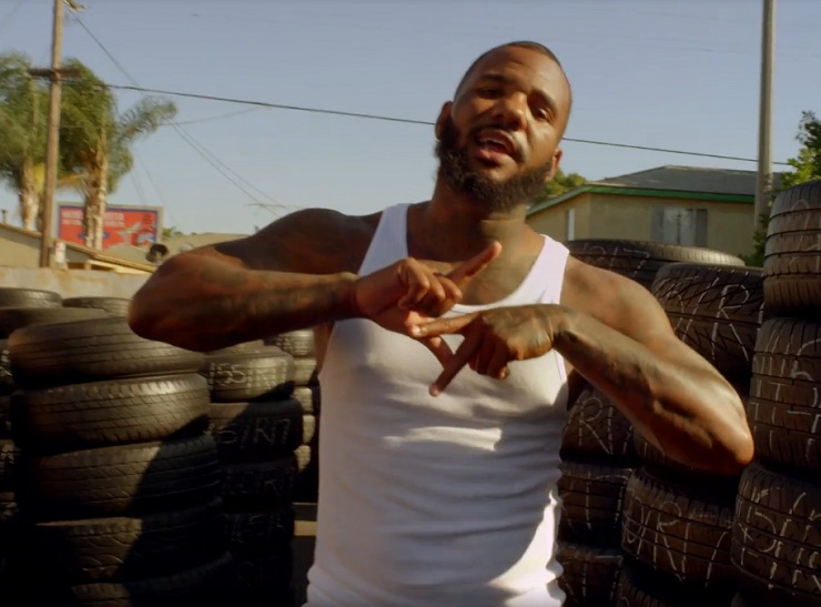 The Game '100' (ft. Drake) (video)