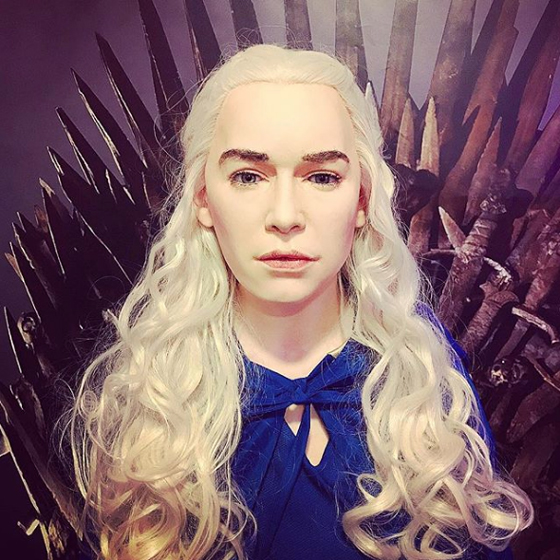 'Game of Thrones' Fans Are Roasting This Daenerys Targaryen Wax Figure