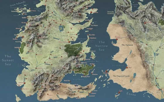 Someone Made Google Maps for 'Game of Thrones'