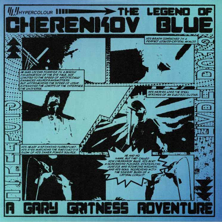 Gary Gritness The Legend of Cherenkov Blue