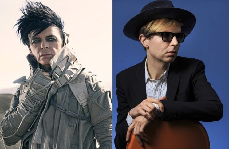 "Watch Beck and Gary Numan Join Forces to Cover ""Cars"" at Riot Fest"