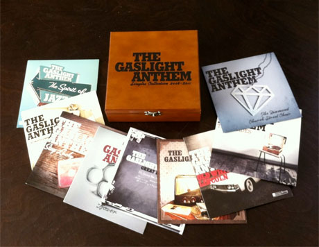 The Gaslight Anthem Gather 7-Inches for 'Singles Collection 2008-2011' Box Set