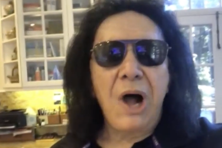 Gene Simmons Has a Message for Everyone Complaining About Quarantine: 'Shut Up and Get Over Yourselves'