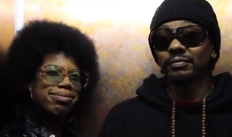 Georgia Anne Muldrow & Dudley Perkins 'PopStopper' (video)