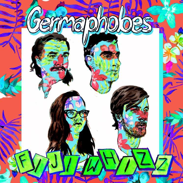 Germaphobes 'Fiji Whizz' (album stream)