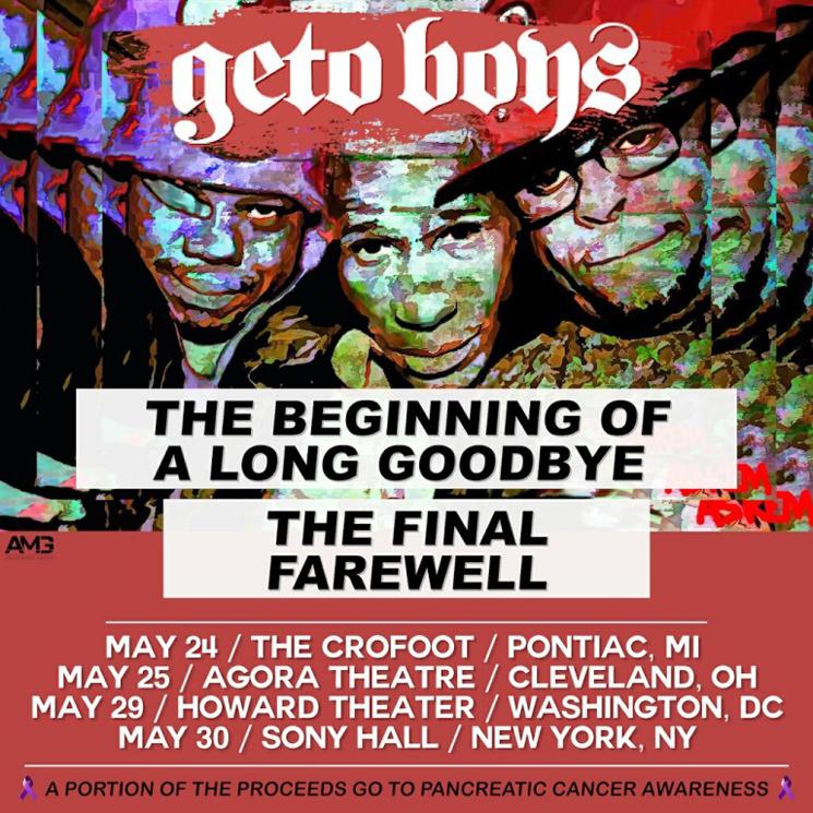 Geto Boys Reportedly Cancel Farewell Tour