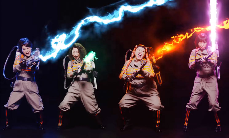 Sorry, Fall Out Boy & Missy Elliott: This Japanese 'Ghostbusters' Theme Totally Slays Yours