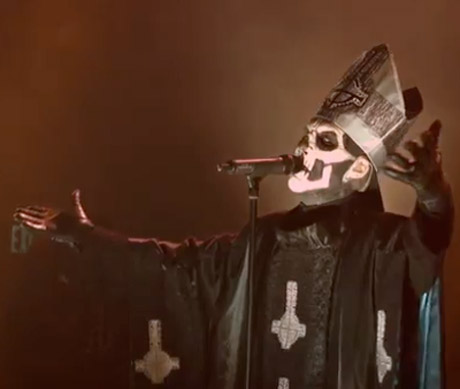 "Ghost B.C. ""Monstrance Clock"" (video)"
