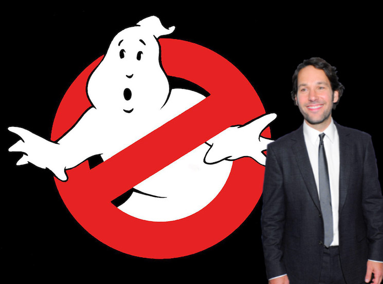 Paul Rudd Joins Cast of New 'Ghostbusters' Movie