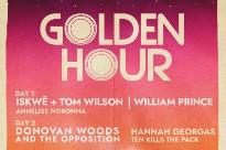 Donovan Woods & the Opposition, iskwē + Tom Wilson, William Prince Headline Prince Edward County's Golden Hour Festival