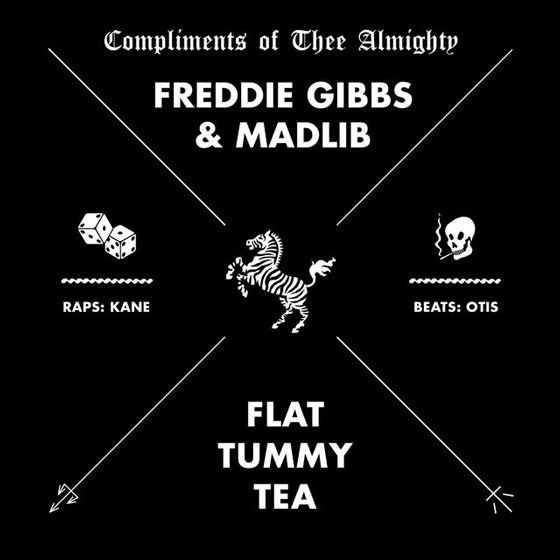 "Freddie Gibbs and Madlib Return with ""Flat Tummy Tea"""