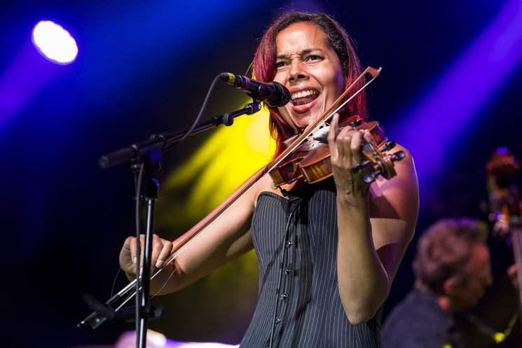 Rhiannon Giddens  Edmonton Folk Music Festival, Edmonton AB, August 11