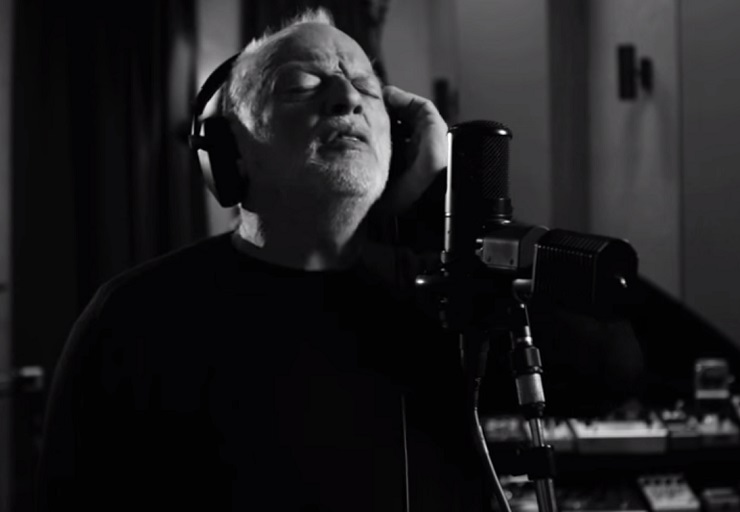 "David Gilmour ""Faces of Stone"" (video)"