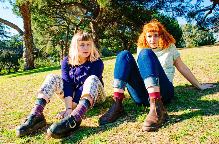 "Girlpool ""Cake"" / ""I Don't Care About Summer"" / ""Jungle Gym"""