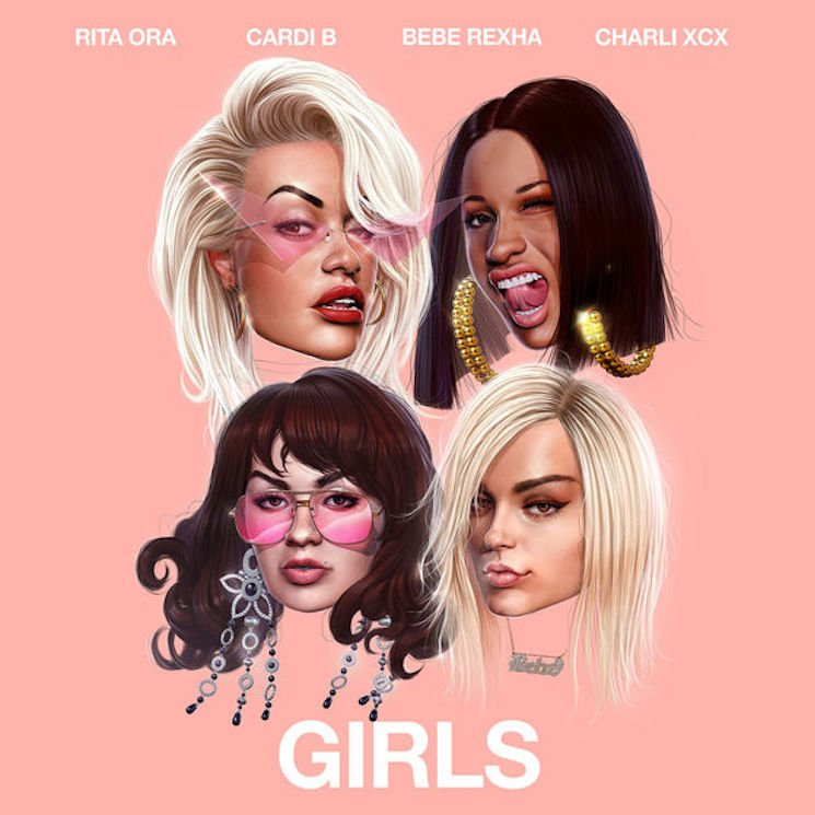 Preview Rita Ora's New Track with Cardi B Charli XCX and Bebe Rexha