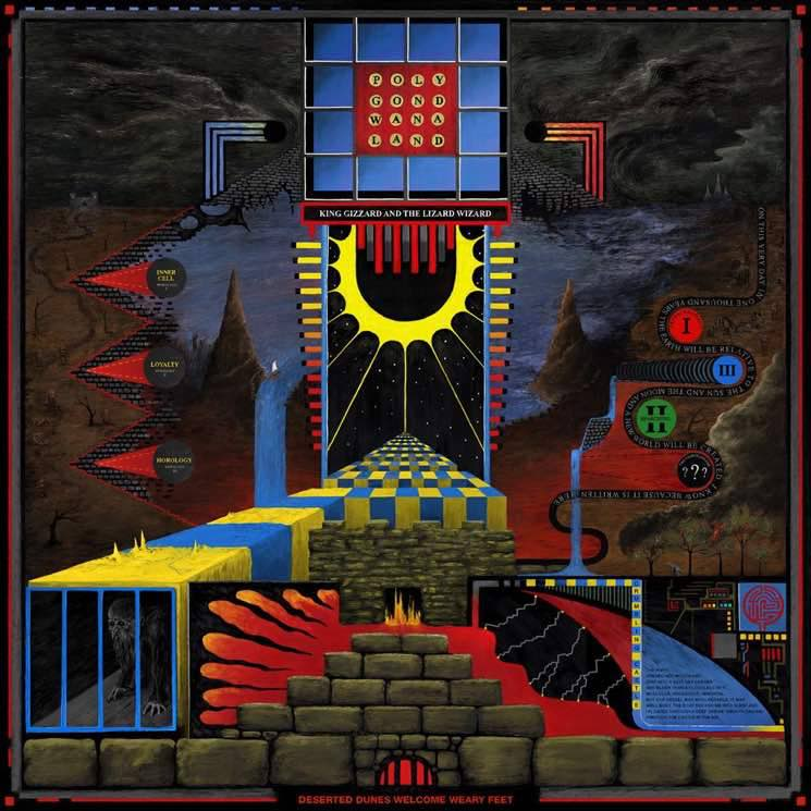 ​King Gizzard & the Lizard Wizard 'Polygondwanaland' (album stream)