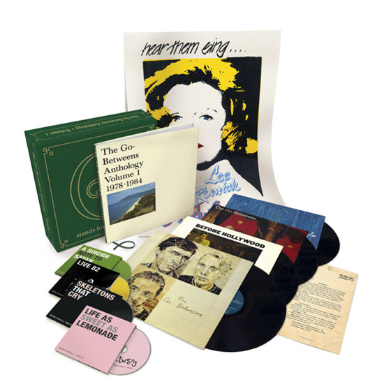 The Go-Betweens' Early Years Celebrated with 'G Stands for Go-Betweens' Box Set