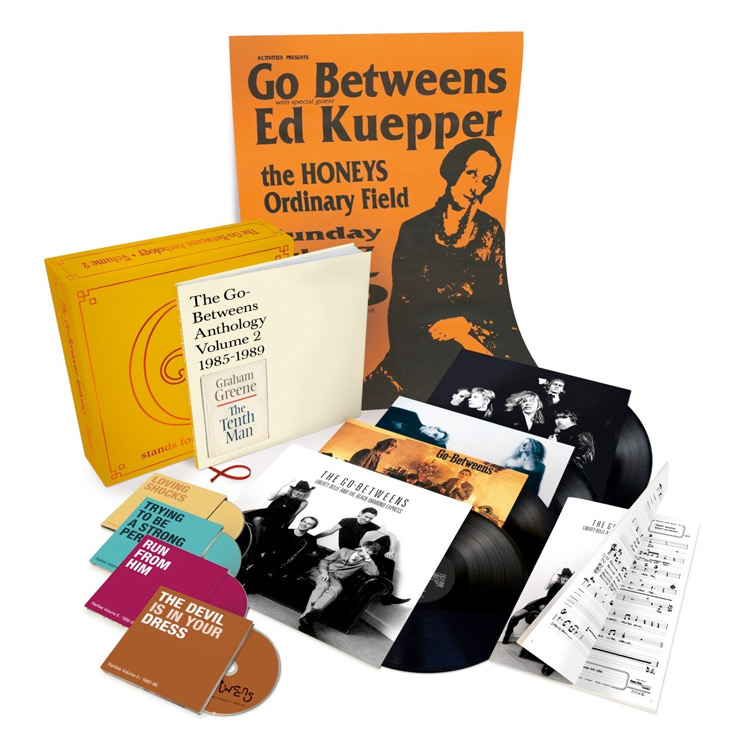 The Go-Betweens G Stands for Go-Betweens: Volume 2, 1985-1989