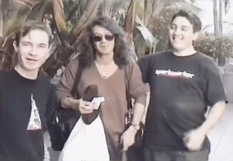 Watch a Surreal Video of Gob Hanging Out with Eddie Van Halen in 1998