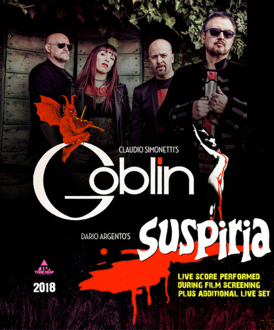 Claudio Simonetti's Goblin to Play 'Suspiria' in Full on North American Tour