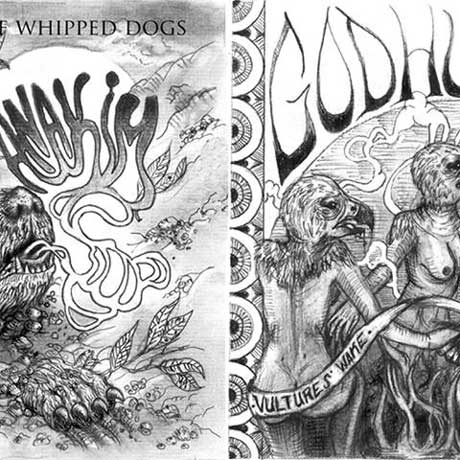 Godhunter/Anakim Vulture's Wake/The Whimper of Whipped Dogs Split 7""
