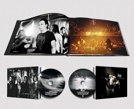 Gojira Share Tour Photos and Concert Recordings in 'Les Enfants Sauvages' Book/CD/DVD