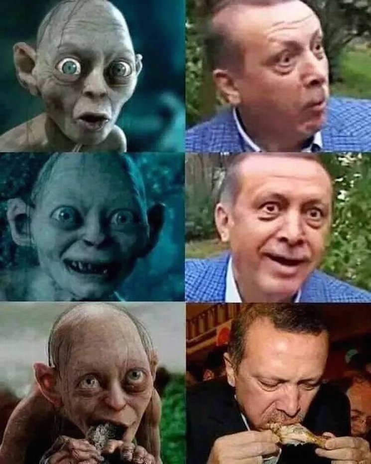 Turkish Man Faces Prison Time for Comparing President to Gollum; Peter Jackson Weighs In