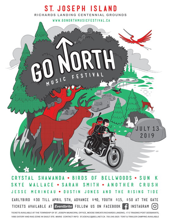 Ontario's Go North Music Festival Reveals 2019 Lineup