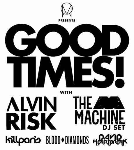 "Alvin Risk, Blood Diamonds, David Heartbreak Team Up for ""OWSLA Presents... Good Times"" Canadian Tour"