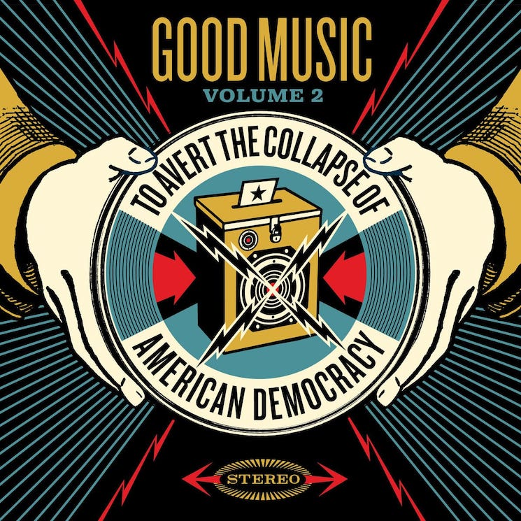 Pearl Jam, Feist, PUP, Fleet Foxes Hop on 'Good Music to Avert the Collapse of American Democracy Vol. 2'