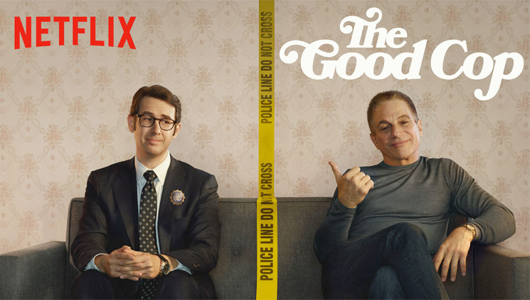 Netflix Cancels  Tony Danza and Josh Groban's 'The Good Cop'