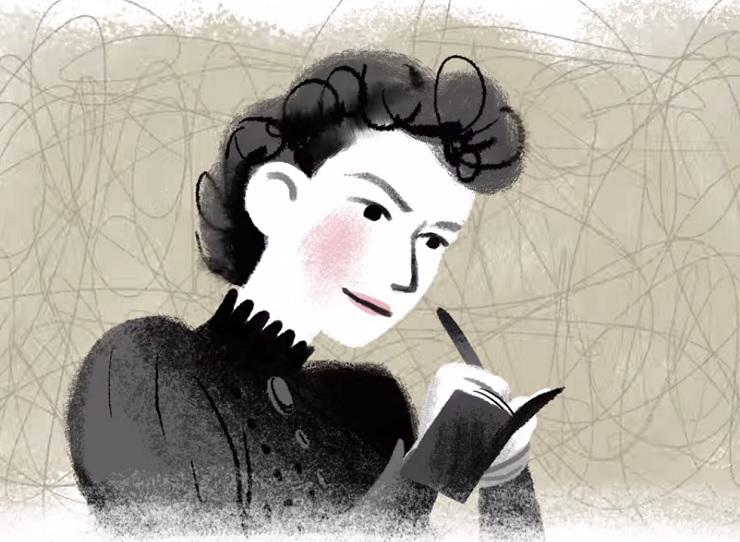 Karen O 'Nellie' (Google Doodle video)