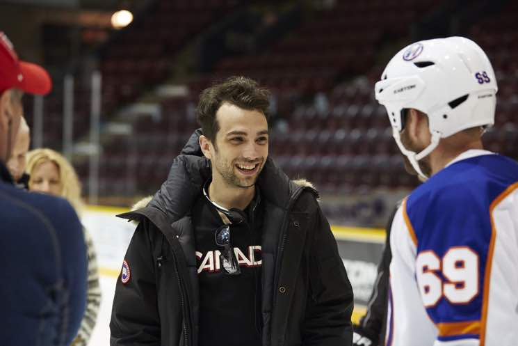 Return of the Goon Star Jay Baruchel Takes the Director's Chair