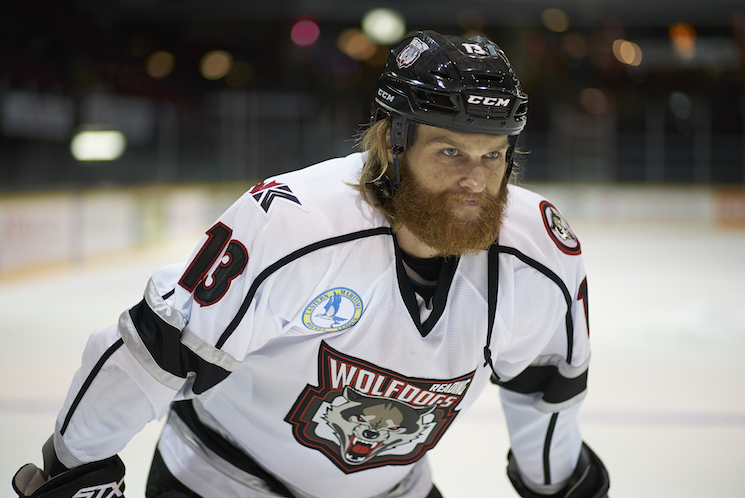 Wyatt Russell Talks Moving from Crease to Camera in 'Goon: Last of the Enforcers'