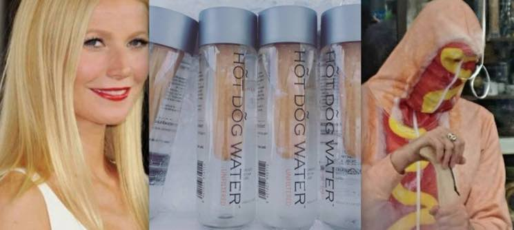 Vancouver Man Trolls Gwyneth Paltrow's Goop Summit Attendees by Selling Hot Dog Water