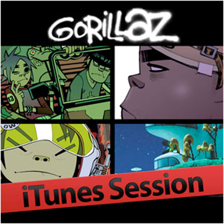 Gorillaz Drop <i>iTunes Session</i> EP