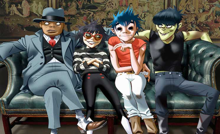 Gorillaz Reveal New Bonobo, Claptone, Nic Fanciulli and Banx & Ranx Remixes