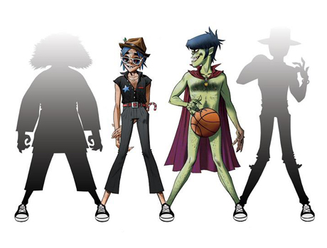 Gorillaz' Converse Track to Feature Andre 3000 and Erykah Badu?
