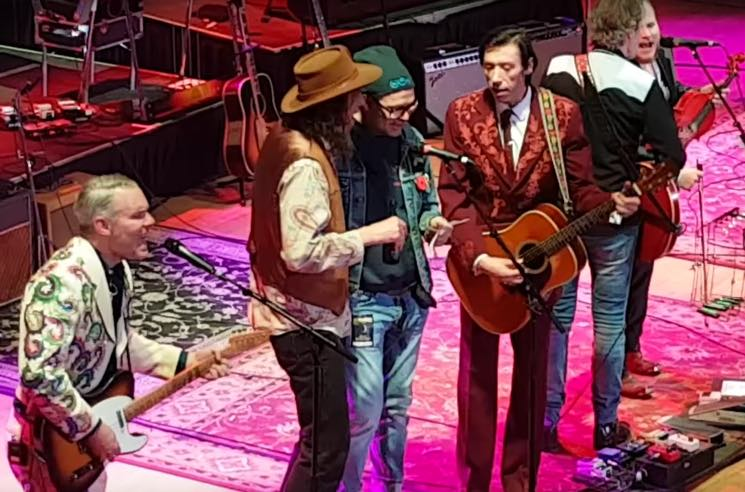 ​Watch Gord Downie Join Blue Rodeo and the Sadies Onstage at Massey Hall