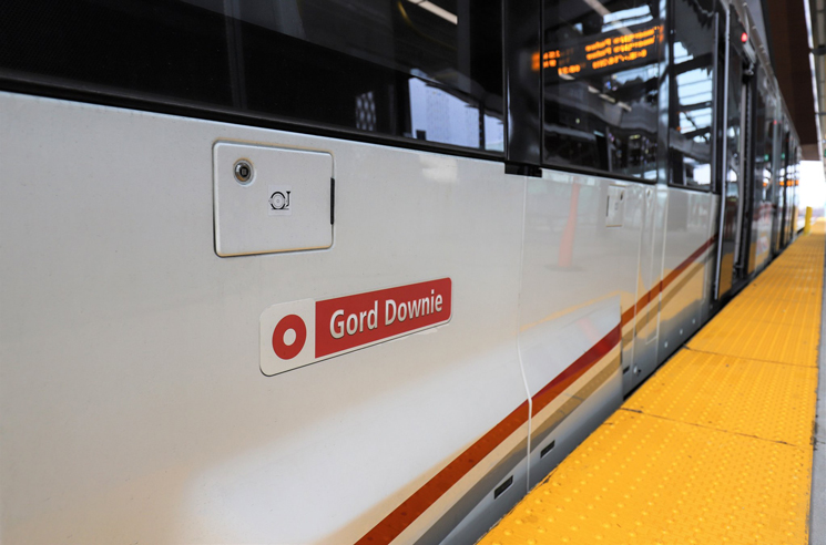 Ottawa Names New Light Rail Train After Gord Downie