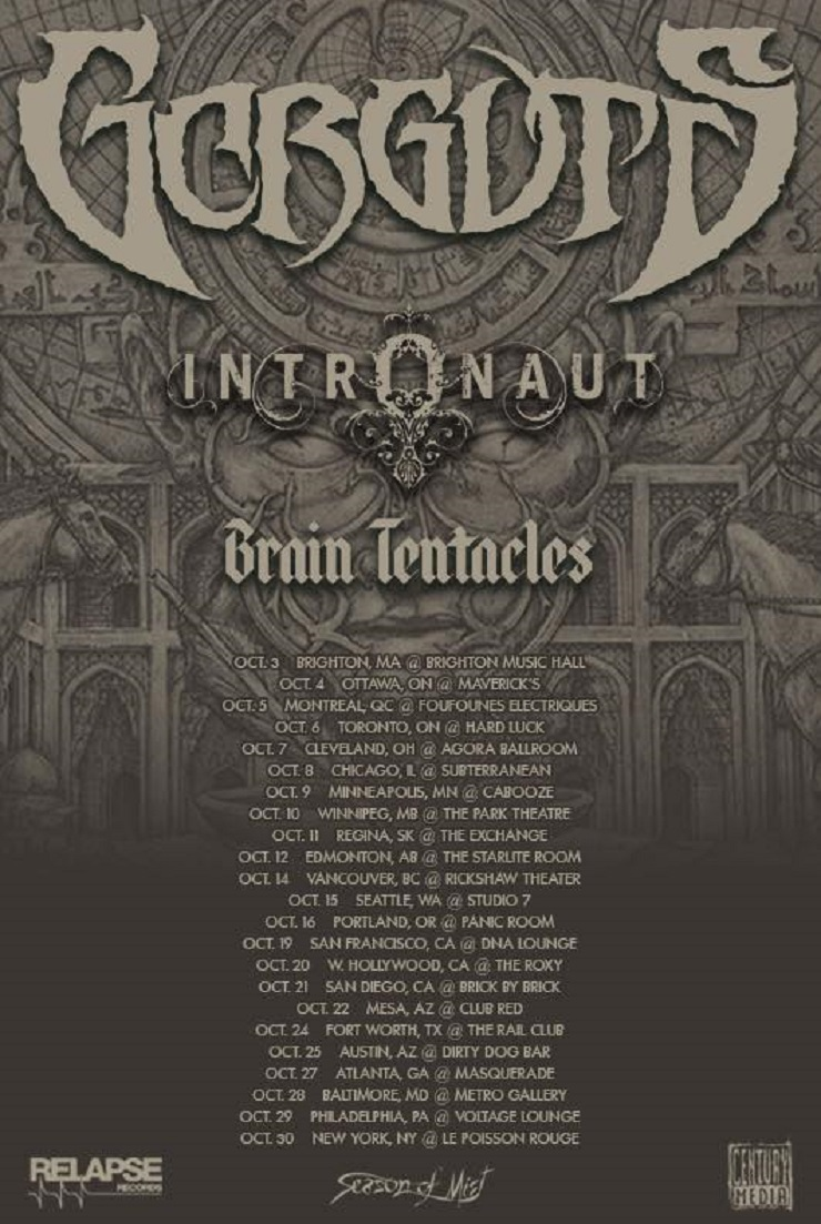 Gorguts Announce North American Tour with Intronaut