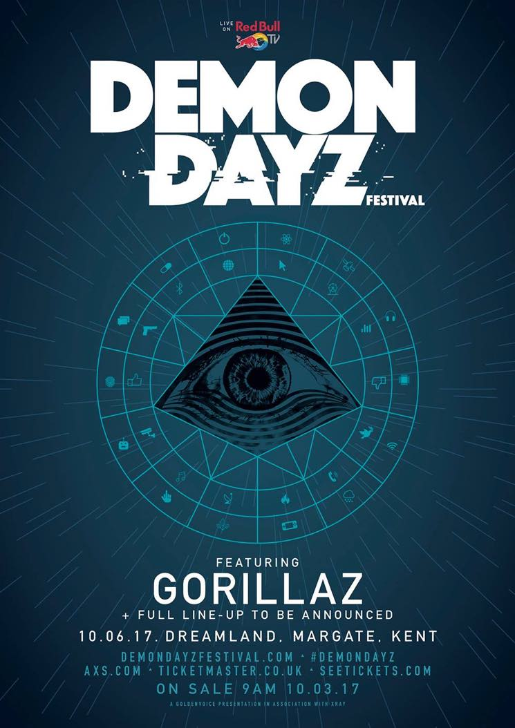 ​Gorillaz Announce Live Return with Their Very Own Demon Dayz Festival